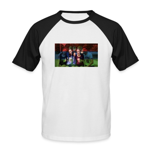 PV-Bike Trip Propaganda - Männer Baseball-T-Shirt