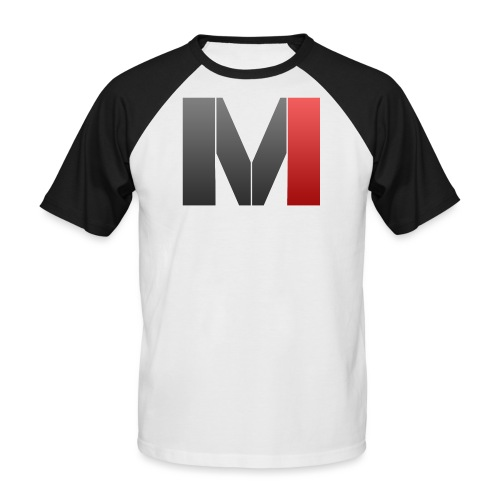 MrGank LOGO - Men's Baseball T-Shirt