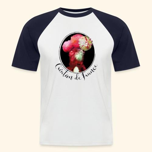Création de France - T-shirt baseball manches courtes Homme