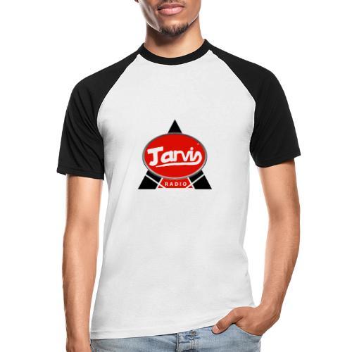 Jarvis Radio Logo - Men's Baseball T-Shirt