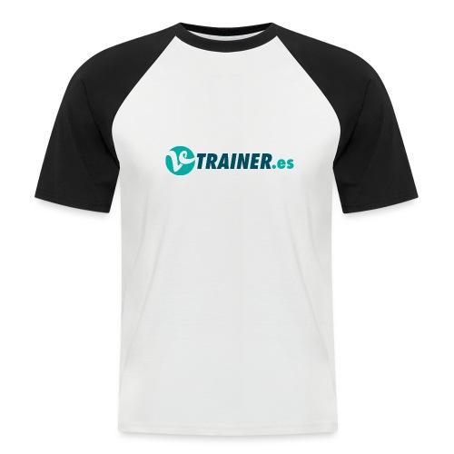 VTRAINER.es - Camiseta béisbol manga corta hombre