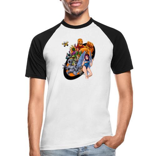 Startopia Character Emblem - Men's Baseball T-Shirt