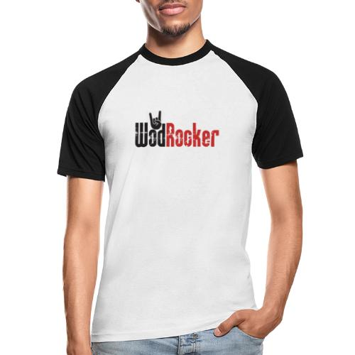 wodrocker logo - Men's Baseball T-Shirt