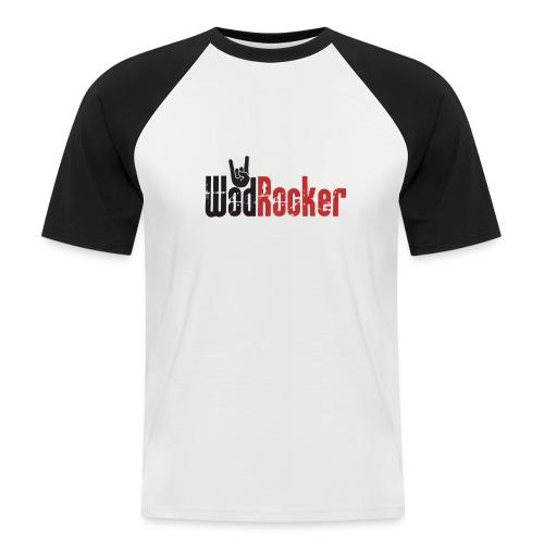 wodrocker logo - Men's Baseball T-Shirt