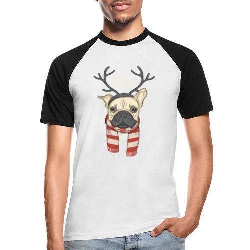 Bully Weihnacht - Männer Baseball-T-Shirt