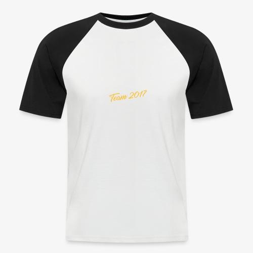 Medgate App Team 2017 Dark - Männer Baseball-T-Shirt