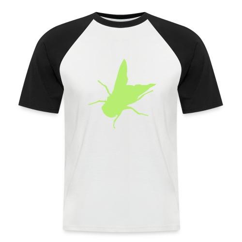 fliege - Männer Baseball-T-Shirt