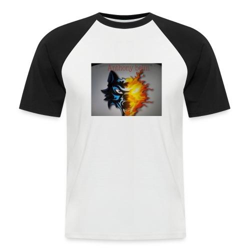 E44A4C12 938F 44EE 9F52 2551729D828D - T-shirt baseball manches courtes Homme