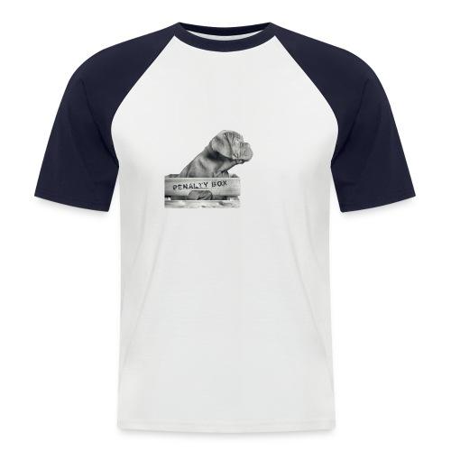 Penalty Box - Kortærmet herre-baseballshirt