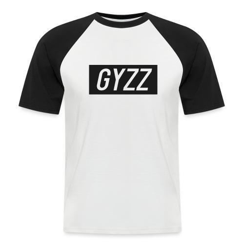 Gyzz - Kortærmet herre-baseballshirt