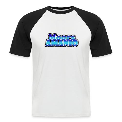 MoorsAmanioLogo - Mannen baseballshirt korte mouw