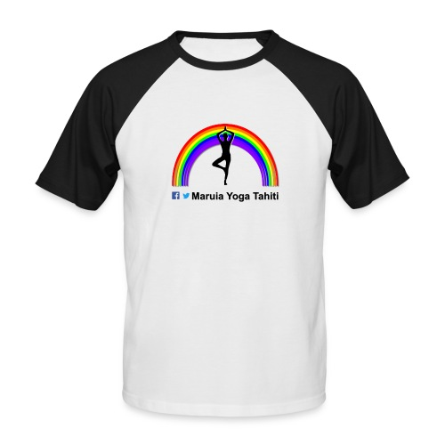 Logo de Maruia Yoga Tahiti - T-shirt baseball manches courtes Homme
