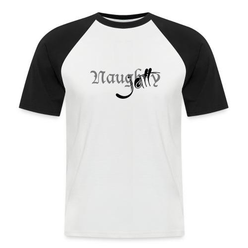 naughty jatt - Men's Baseball T-Shirt