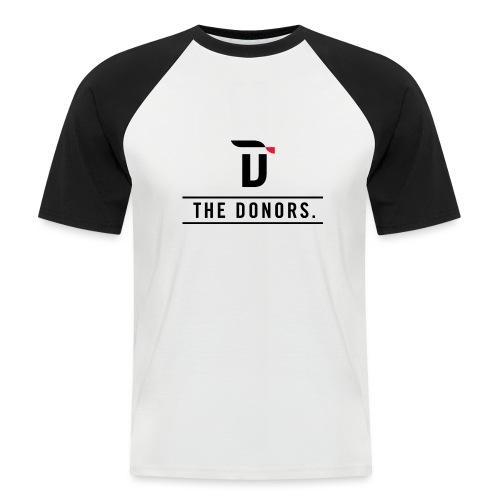 The Donors. - Männer Baseball-T-Shirt