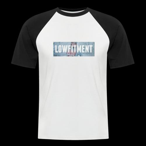 bumperstickers 012 - Mannen baseballshirt korte mouw