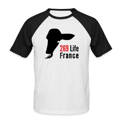 logo269LifeFrance png - T-shirt baseball manches courtes Homme