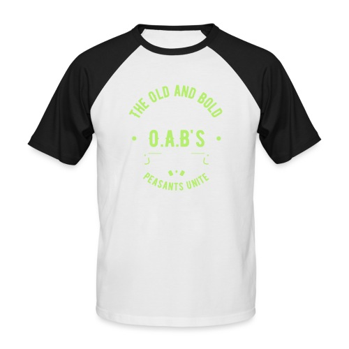 OAB unite green - Men's Baseball T-Shirt