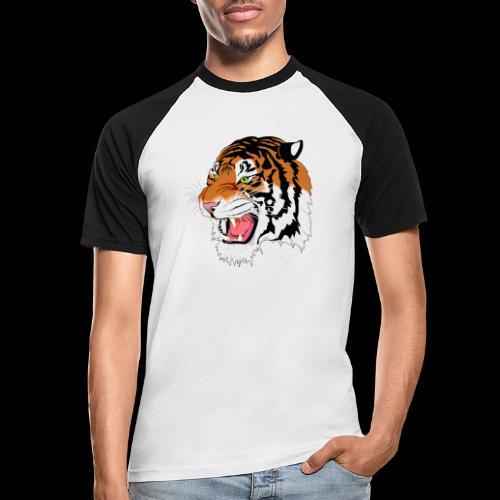 Sumatra Tiger - Männer Baseball-T-Shirt