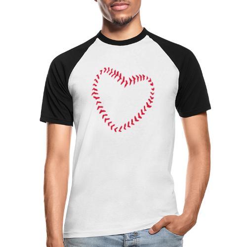2581172 1029128891 Baseball Heart Of Seams - Men's Baseball T-Shirt
