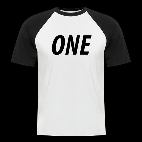WEAREONE x LETTERS - Mannen baseballshirt korte mouw