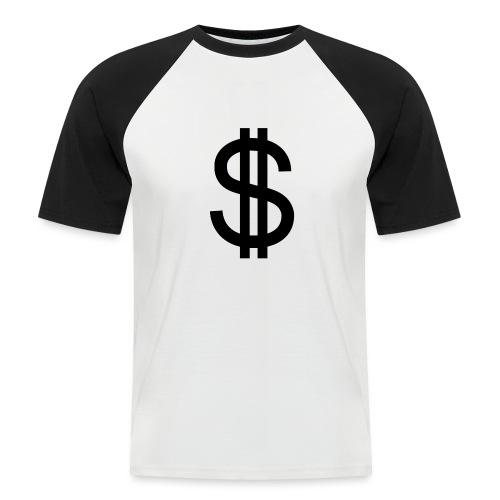 Dollar - Camiseta béisbol manga corta hombre