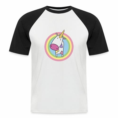 MilkCorn - T-shirt baseball manches courtes Homme