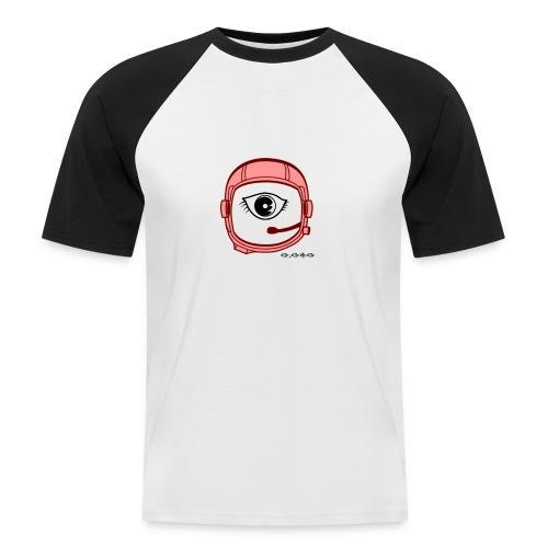 megahelmet red png - Camiseta béisbol manga corta hombre