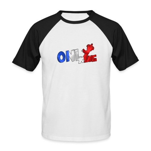 Logo ONLY KING edition francaise - T-shirt baseball manches courtes Homme