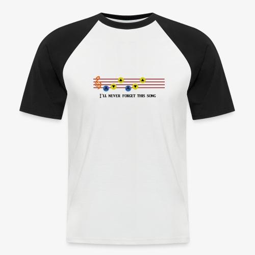 Ocarina Song - T-shirt baseball manches courtes Homme