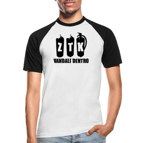 ZTK Vandali Dentro Morphing 1 - Men's Baseball T-Shirt