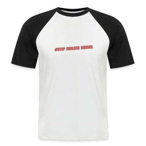 stop kanadbumser - Kortærmet herre-baseballshirt