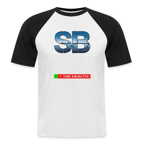 Health Tee Oh Shiiet! - Kortærmet herre-baseballshirt