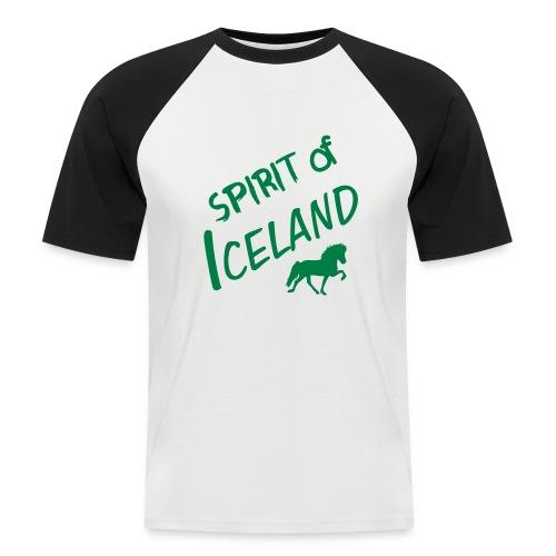 4gaits ruecken - Männer Baseball-T-Shirt