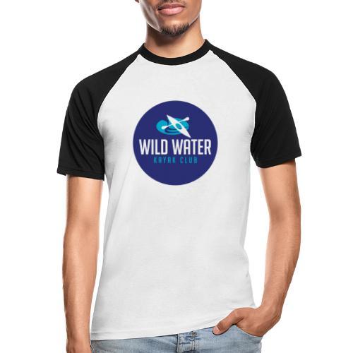 Logo Blue Circle - Men's Baseball T-Shirt