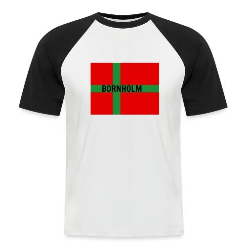 BORNHOLM - Kortærmet herre-baseballshirt