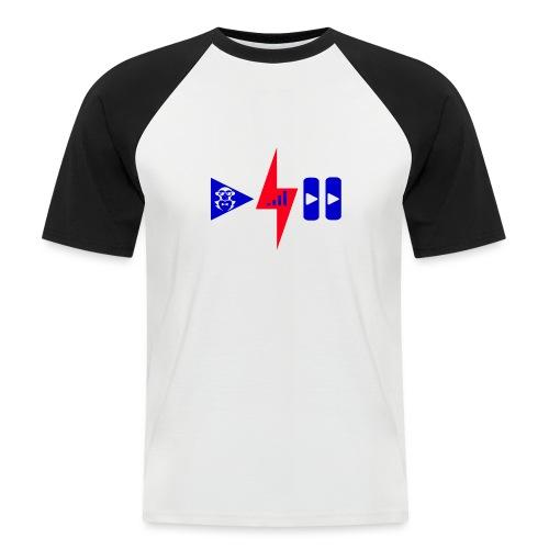 Luis Cid R - Camiseta béisbol manga corta hombre