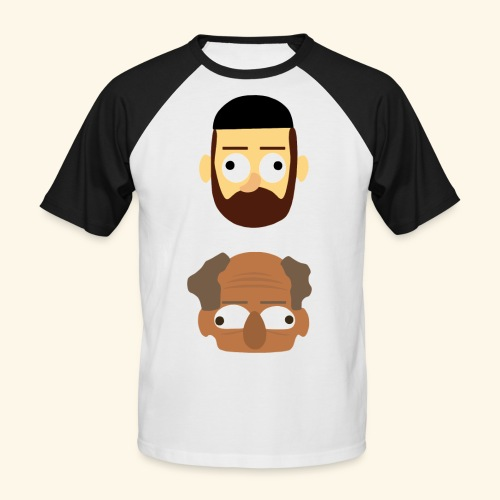 Makkers - Mannen baseballshirt korte mouw