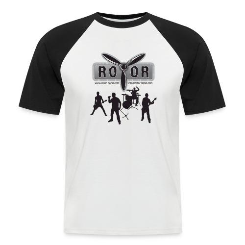 Band Logo - Männer Baseball-T-Shirt
