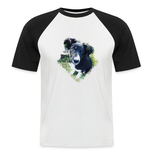 colliegermanshepherdpup - Men's Baseball T-Shirt