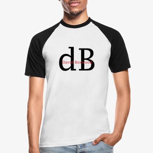 dB - Maglia da baseball a manica corta da uomo