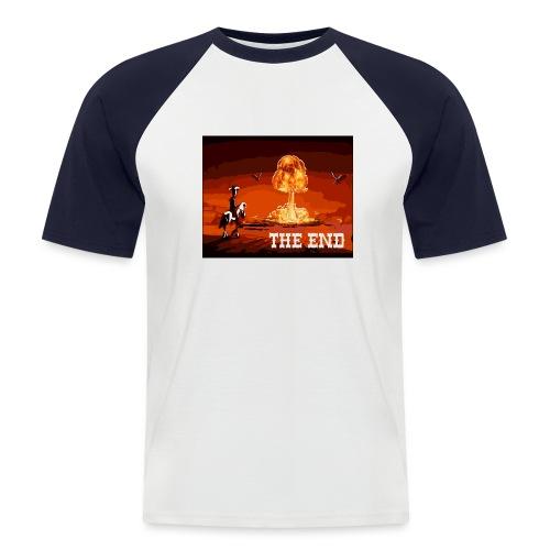 THE END (version 2 : pour toute couleur de fond) - T-shirt baseball manches courtes Homme