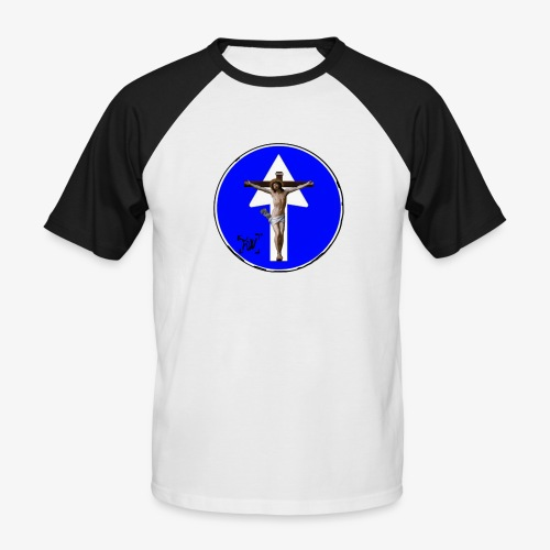 Gesù - Maglia da baseball a manica corta da uomo