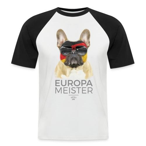 Europameister Deutschland - Männer Baseball-T-Shirt