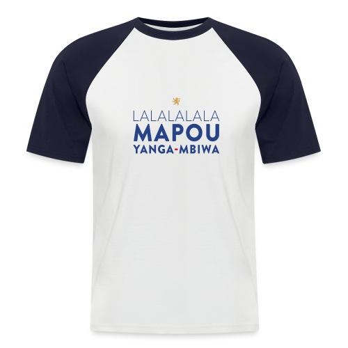 Mapou YANGA-MBIWA - T-shirt baseball manches courtes Homme