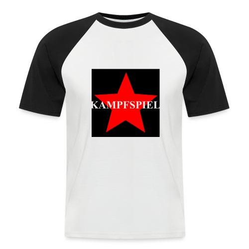 Kampfspiel - Männer Baseball-T-Shirt