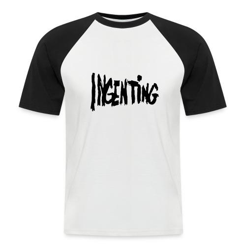ingenting logo - Kortermet baseball skjorte for menn
