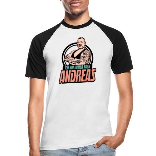 Immer-Noch-Andreas-Logo BUNT - Camiseta béisbol manga corta hombre