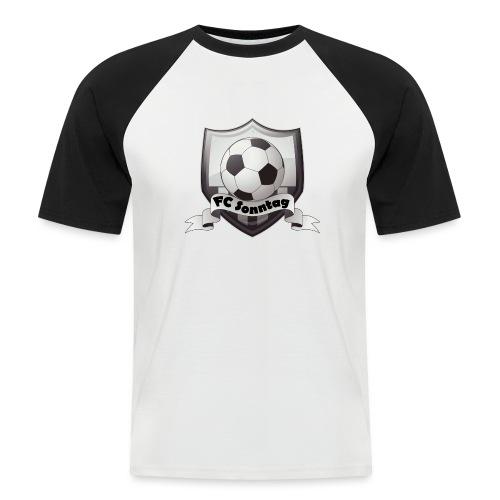 FC Sonntag Logo - Männer Baseball-T-Shirt