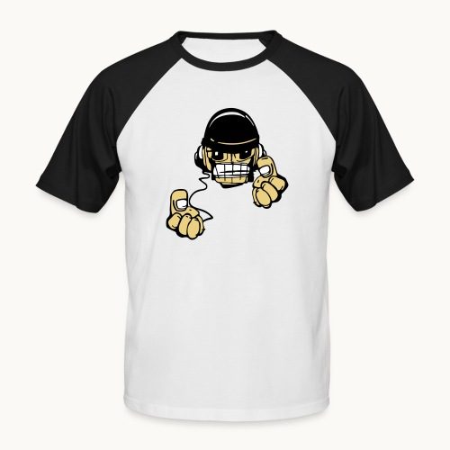 Micky DJ - T-shirt baseball manches courtes Homme