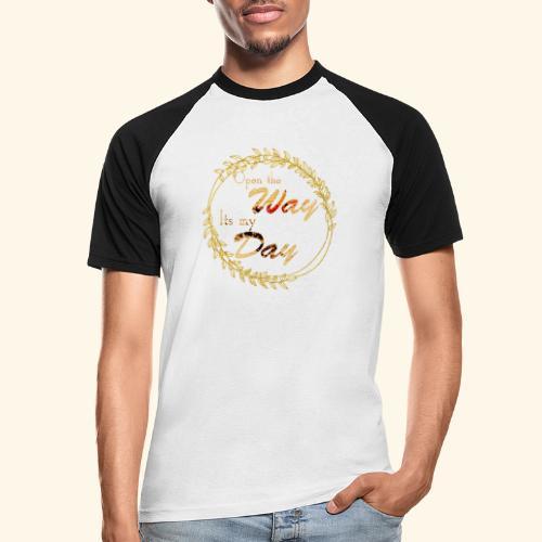 its my day weddingcontest - Men's Baseball T-Shirt